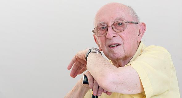 הסופר נתן שחם. נפטר בגיל 93