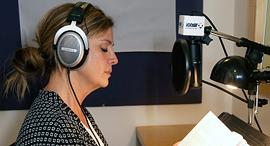 הקלטת ספר אודיו, צילום: יריב כץ