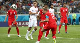 משחק של טוניסיה נגד אנגליה, צילום: רויטרס