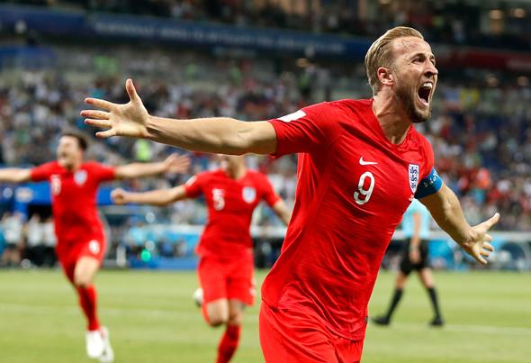 שחקני אנגליה חוגגים, צילום: אי פי איי