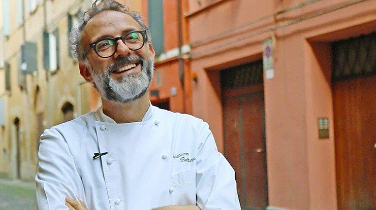 השף מאסימו בוטרה של אוסטריה פרנצ'סקנה