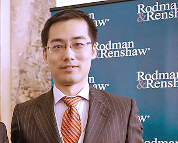 ג'ים וואנג, מנהל השקעות בכיר בתאגיד הסיני פוסון