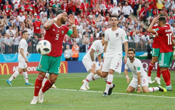 מרוקו נגד פורטוגל, צילום: רויטרס