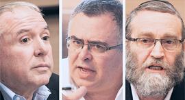 משה גפני, דוד ביטן ודודי אמסלם, צילומים: עומר מסינגר, יואב דודקביץ
