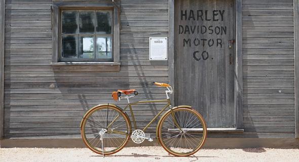 הדגם המשוחזר של הארלי דייוידסון,  צילום: יצרן