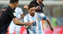 מונדיאל 2018 קרואטיה נגד ארגנטינה ליאו מסי, צילום: גטי אימג'ס