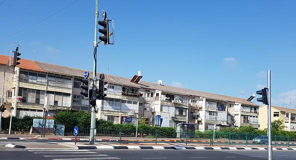 שיכונים רמת ורבר פתח תקווה התחדשות עירונית, צילום: דוד הכהן