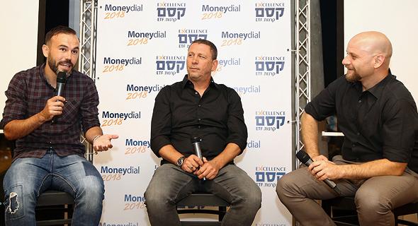 מימין: אוריאל דסקל, ניר קלינגר וביברס נאתכו, צילום: אוראל כהן