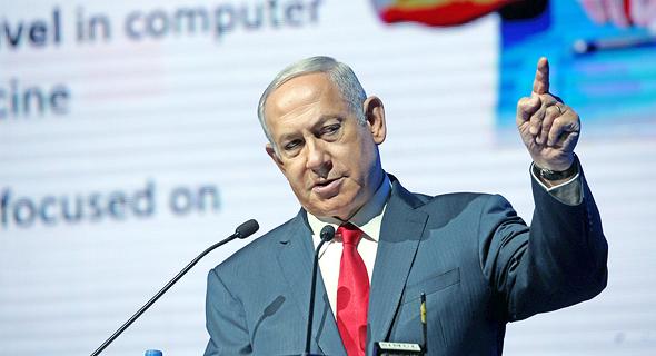 ראש הממשלה בנימין נתניהו בכנס הסייבר של גלובס, צילום: יריב כץ
