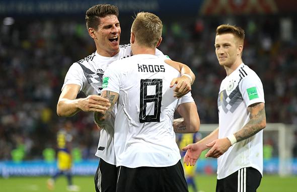חגיגות הניצחון של גרמניה
