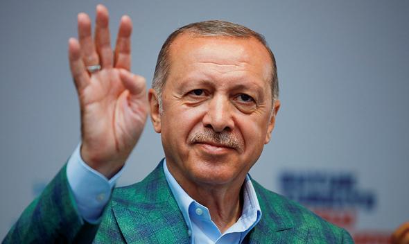 נשיא טורקיה ארדואן