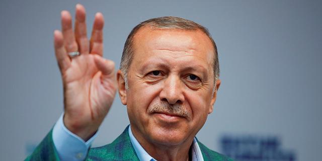 נשיא טורקיה ארדואן , צילום: רויטרס
