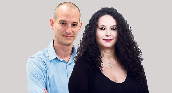 """מימין: ראש מינהל התכנון דלית זילבר ויו""""ר הותמ""""ל אריאל יוצר"""