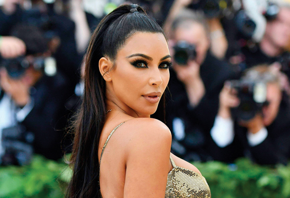 Kim Kardashian West. Photo: AFP
