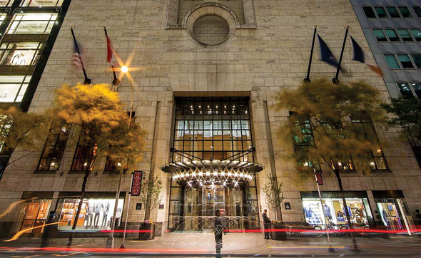 מלון פור סיזנס, ניו יורק