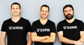 Silverfort co-founders Yaron Kassner (left), Hed Kovetz, Matan Fattal. Photo: PR