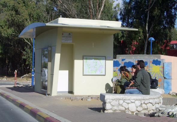 תחנת הסעה ממוגנת, שער הנגב