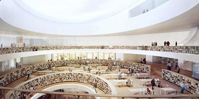 פרויקט הספריה הלאומית יוצא לדרך - 375 מיליון שקל יושקעו בהקמת המבנה