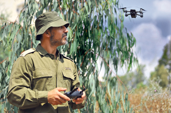 Major Assaf Shaish. Photo: IDF Spokesperson's Unit