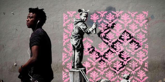 7 עבודות חדשות של בנקסי התגלו הלילה בפריז