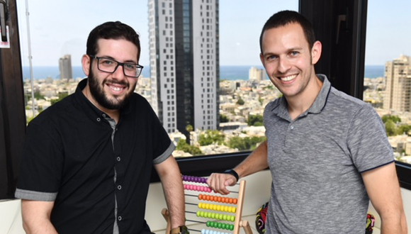 Arbitrip co-founders Orel Jossef (left) and Benny Yonovich. Photo: Israel Hadari