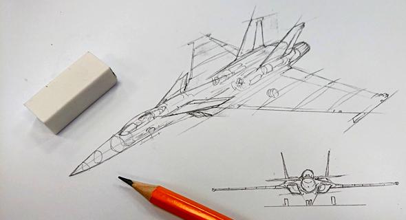 מטוס האריה, עיצוב קונספט