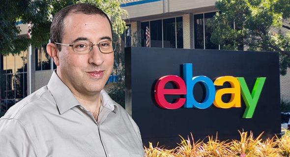 EBay Israel general manager Moti Eliav. Photo: Inbal Marmari