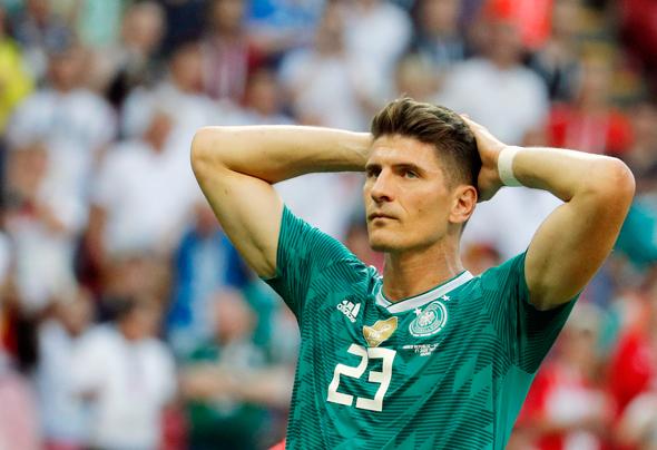 הלם בנבחרת הגרמנית, צילום: אי פי איי