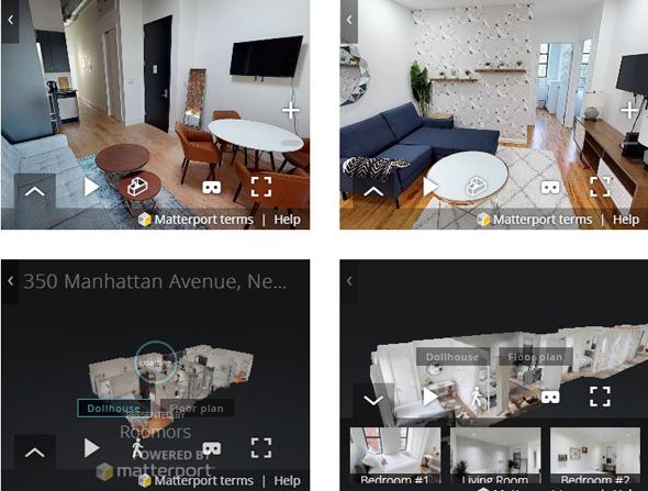 דירות להשכיר ב-Roomors, בתצוגה תלת ממדית, צילום: roomors