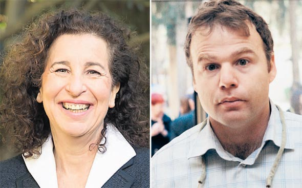 מימין: יוסי דורי וענת לוין