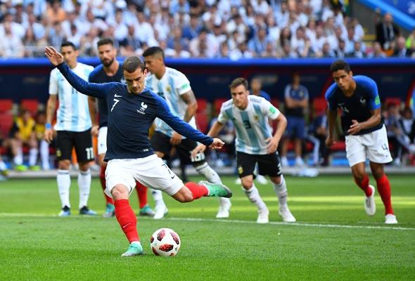 צרפת נגד ארגנטינה, הערב, צילום: רויטרס