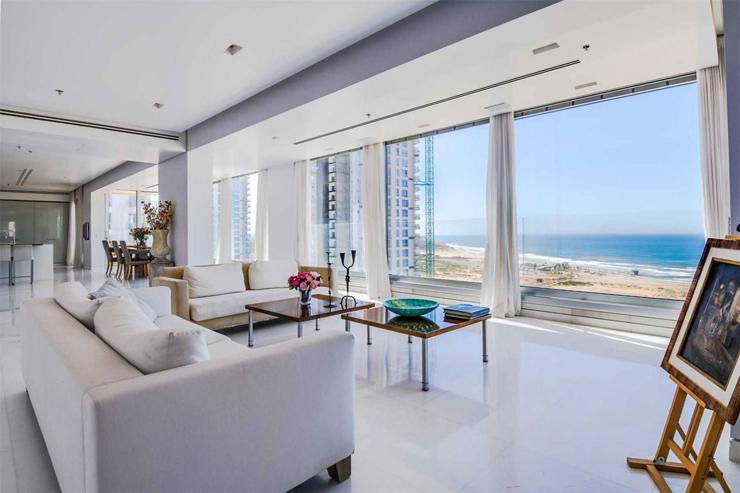 """באותו המחיר: דירה בפרויקט עיר ימים, קומה 17, 6 חדרים, 500 מ""""ר"""