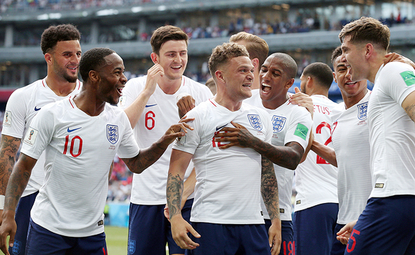 British Football team. Photo: MCT