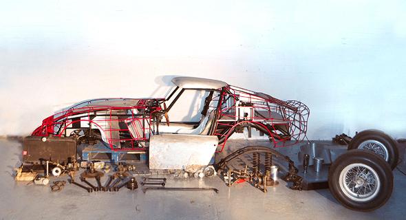 רכב פרארי 250 GTO מודל 1962 מכירה פומבית