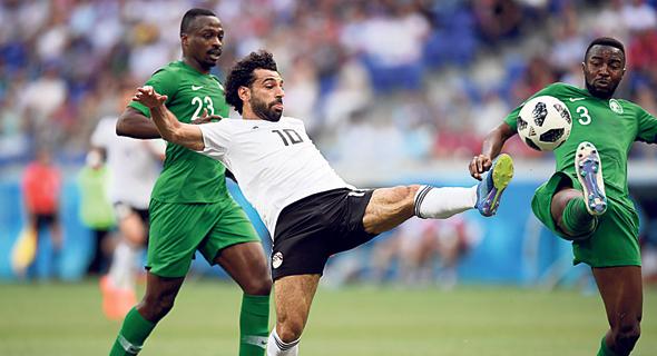 סלאח מול סעודיה, צילום: גטי אימג