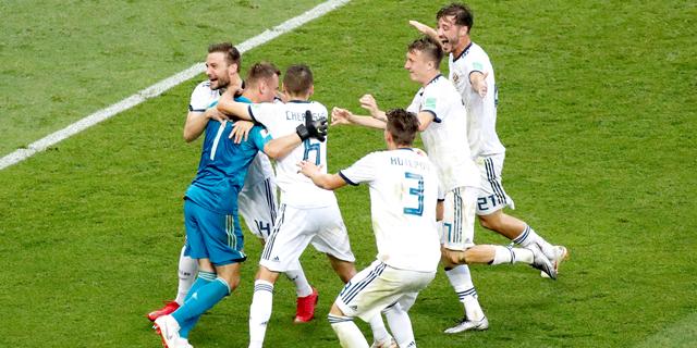 הפתעה בשמינית הגמר: רוסיה הדיחה את ספרד