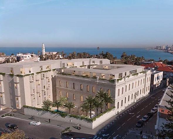 The Jaffa hotel. Photo: The Jaffa