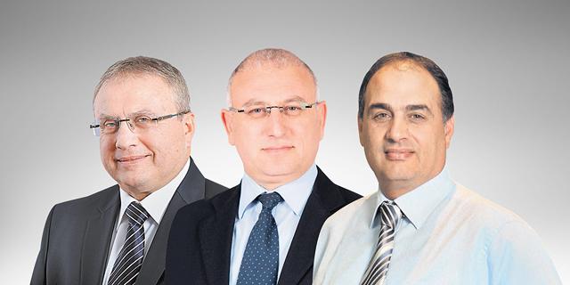 מימין אורי אומיד שמעון מירון ואריק יוגב