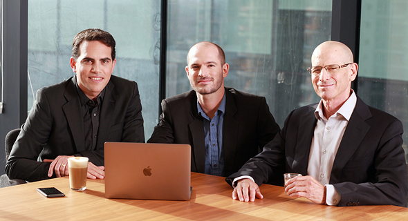 Planck Re co-founders Elad Tsur (left), Amir Cohen and David Schapiro. Photo: PR