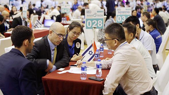 ועידת ההשקעות סין-ישראל הרביעית. מחליפים רעיונות, מחפשים משקיעים, צילום: עמית שעל