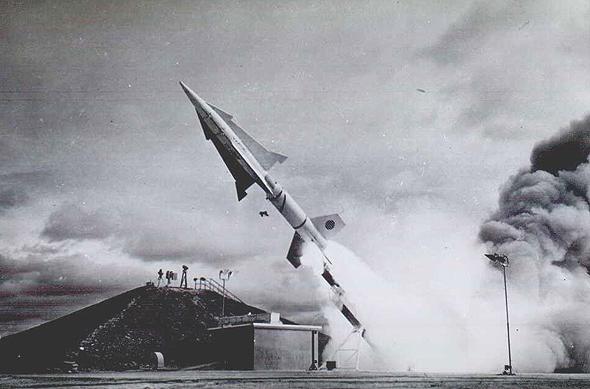 טיל נייקי-זאוס בניסוי שיגור