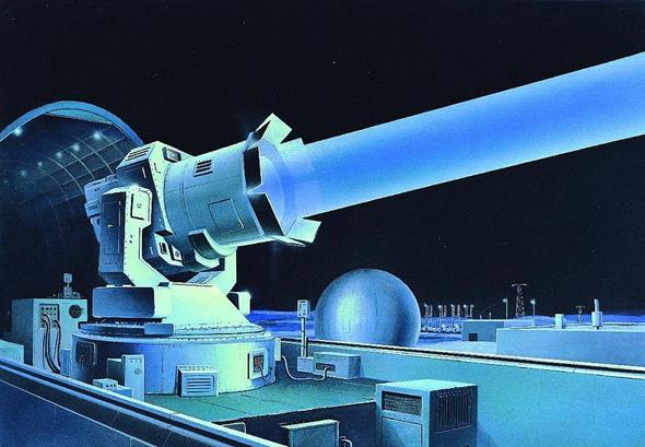 נשק אנרגיה סובייטי, עיצוב קונספט