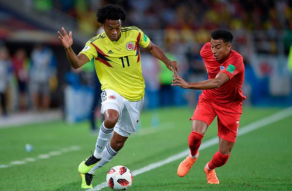 אנגליה נגד קולומביה, צילום: איי אף פי