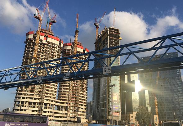 מגדלי משרדים בהקמה בתל אביב
