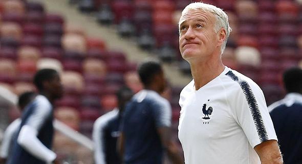 דידייה דשאן, מאמן נבחרת צרפת. מונדיאל 2018, צילום: גטי אימג