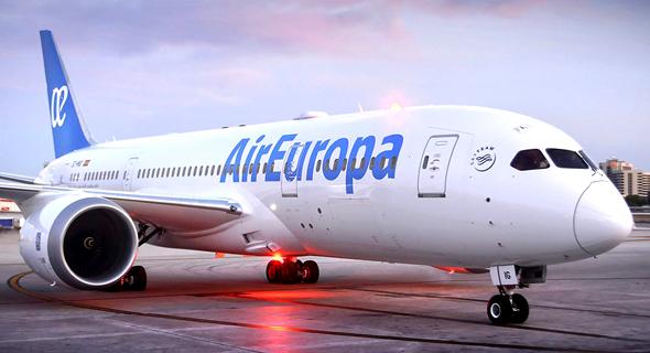 מטוס של אייר אירופה, צילום: Air Europa