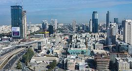 תל אביב מלמעלה זירת הנדלן, צילום: greissdesign-Pixabay