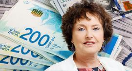 """קרנית פלוג שקל דולר מט""""ח מטבע חוץ כסף מזומן, צילום: עמית שעל, שאטרסטוק"""