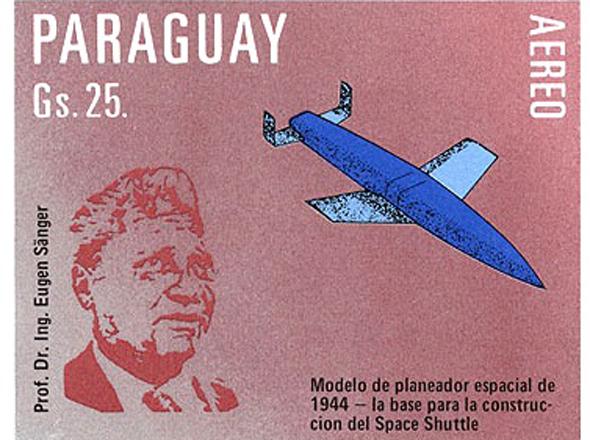 בול שהונפק בפרגוואי לזכרו של זאנגר, צילום: wikipedia