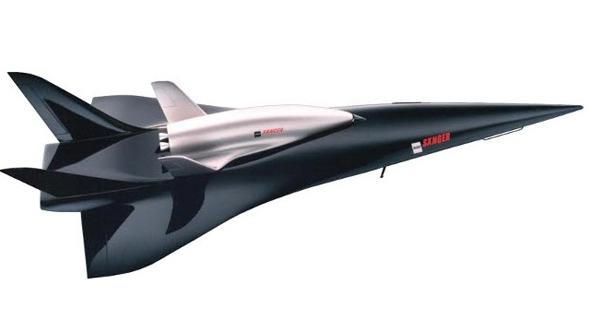 עיצוב מטוס הזאנגר, צילום: BSSB